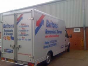 small removal van