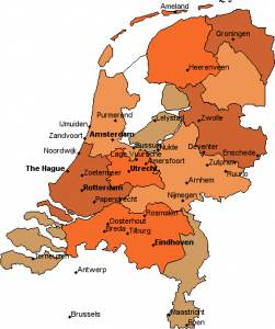 map-of-holland
